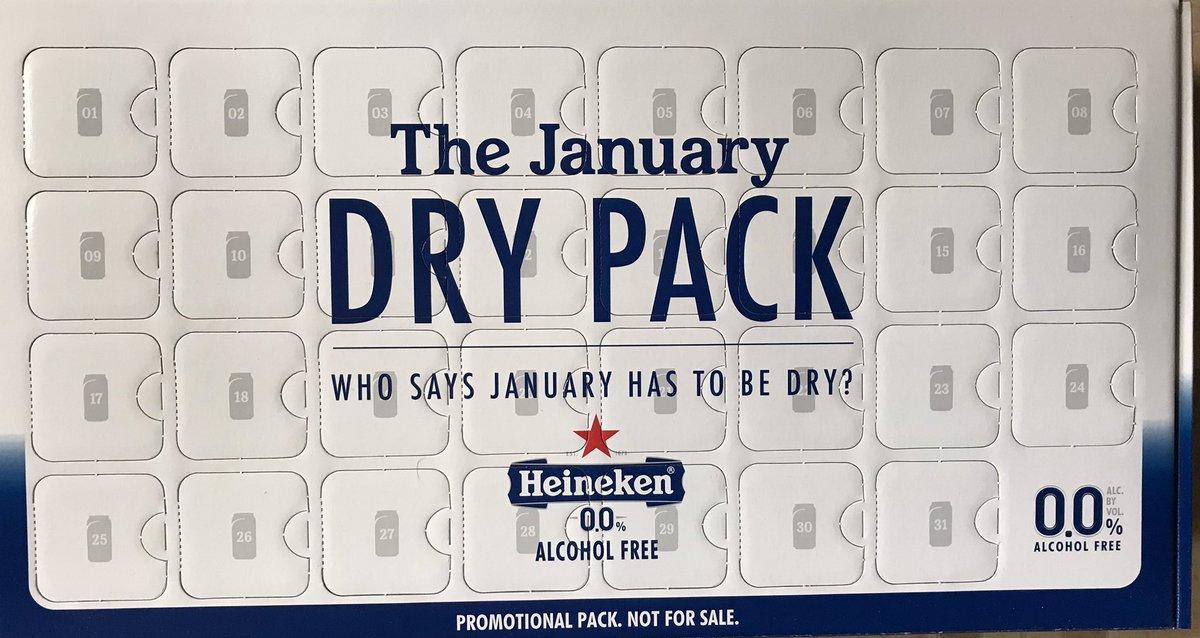 Thanks 😀 @Heineken @gofooji #DryJanuary