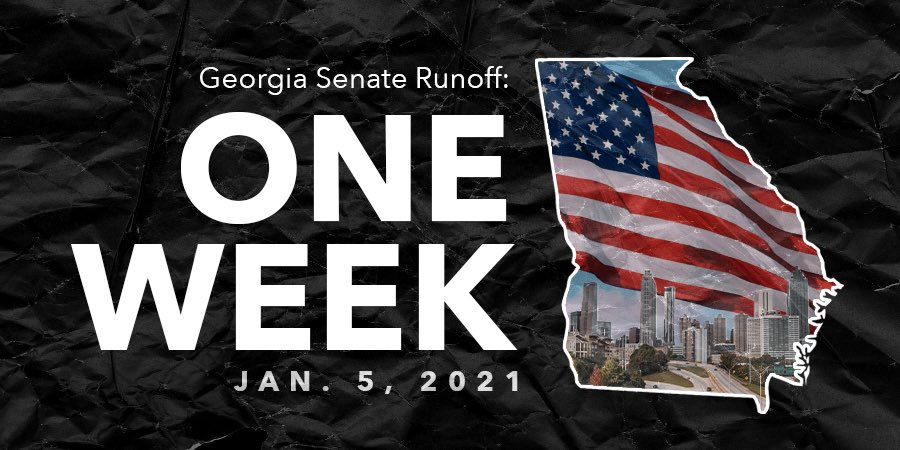 Make your voice heard, Georgia! Only one week until runoff elections close. Click the link to learn more about voting in your area: