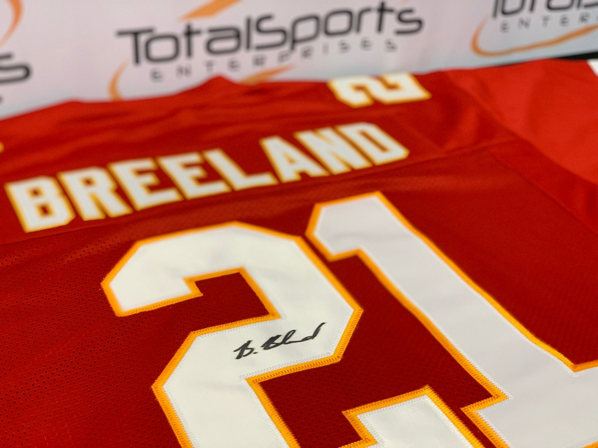 If Bashaud Breeland has an interception AND the Chiefs win today, we'll give a Bashaud Breeland autographed jersey to someone who retweets this tweet AND follows us!