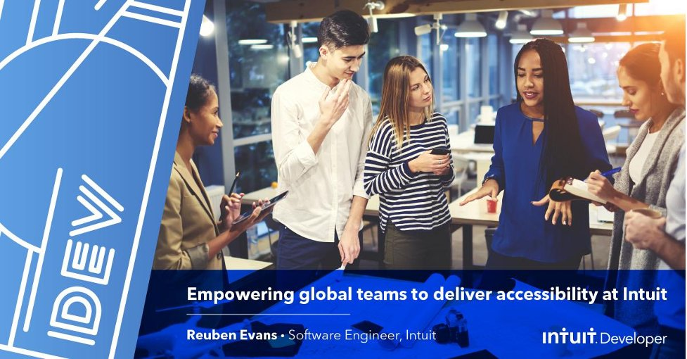 As #developers, we have the responsibility of building an inclusive experience so every user can use our product equally. Software Engineer @reubenevans explains how @Intuit empowers global teams to deliver accessibility-first design >  #IntuitTech #IDPD