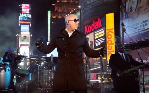 Don't miss yours truly, returning to Times Square to ring in the New Year for our audience of first responders. I BELIEVE that we will win in 2021. #ibelievethatwewillwin #2021  #newyearseve #timessquare
