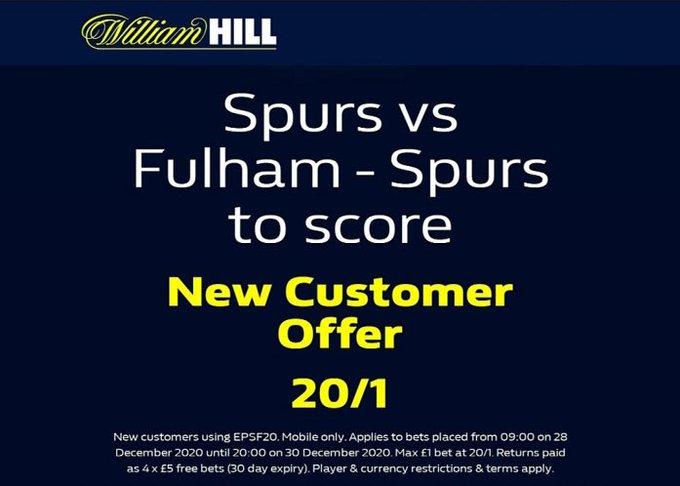 William Hill Price Boost
