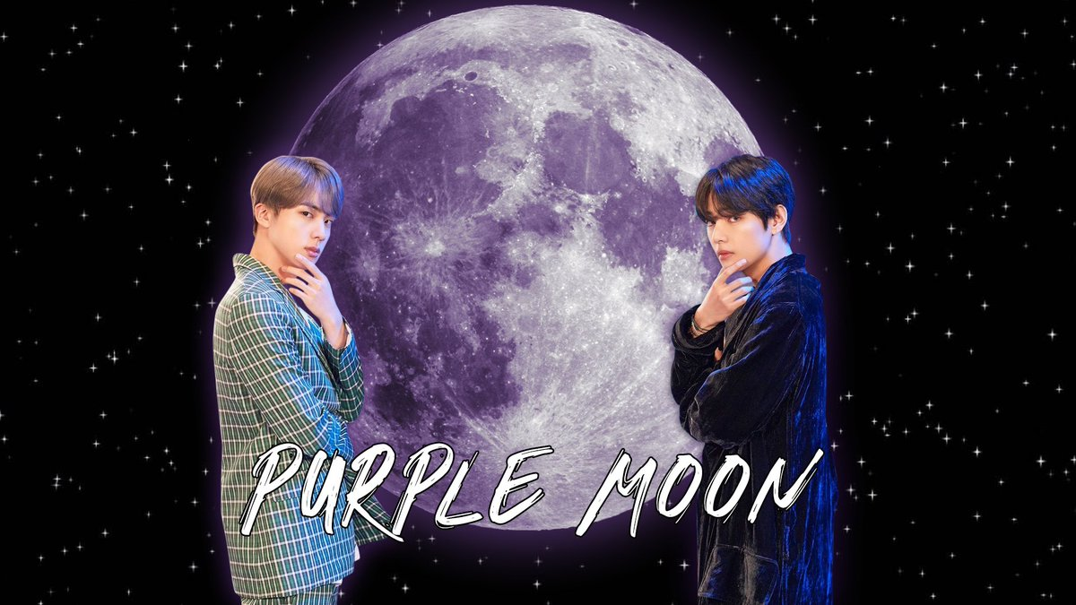 Introducing: Purple Moon 💜🌛  A Seokjin and Taehyung birthday raffle to raise funds for the @RockTrust_tweet! @BTS_twt