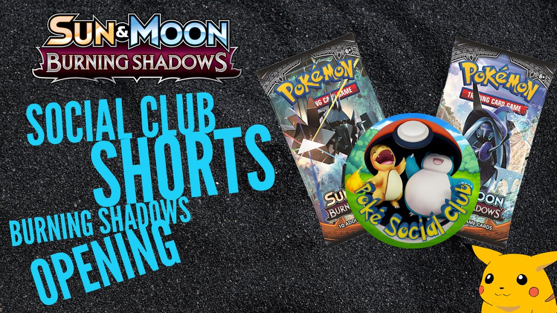 Our first #shorts video is now live on YouTube! Please check it out and let us know what else you'd like to see us make a #short about!  #pokemon #youtubeshorts #YouTube #PokemonTCG #PokemonSwordShield #burningshadows #PokemonGO