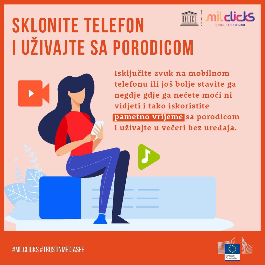 Da li vi koristite pametno vrijeme sa porodicom? #milclicks #trustinmediasee #milclicksbih