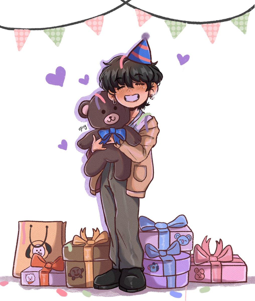 RT @missydesu_: Happy birthday, baby bear 🐻💜  #HappyTaehyungDay #WinterPrinceTaehyung #HappyBirthdayTaehyung https://t.co/TYGeuz5oKm