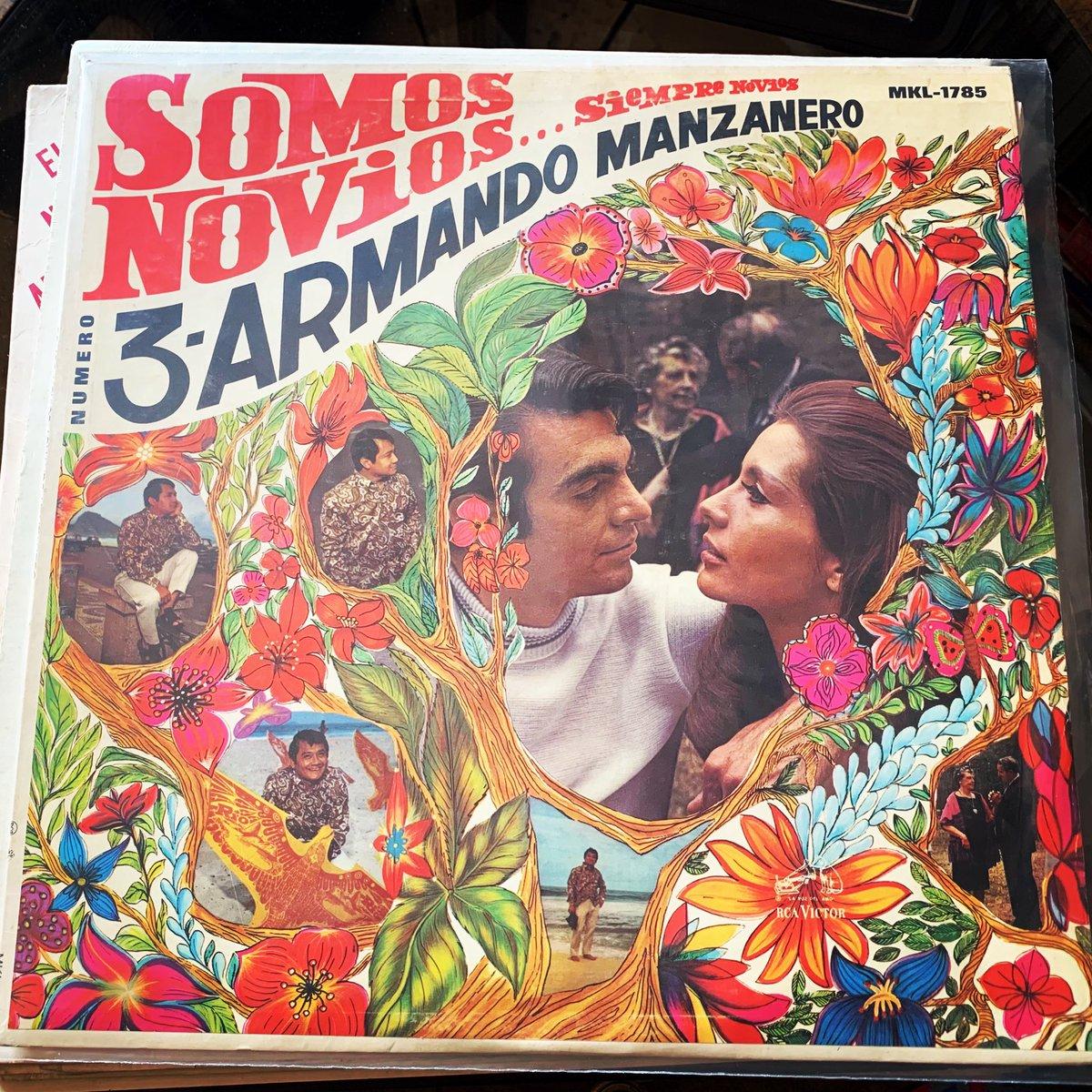 #QEPD #RIP #ArmandoManzanero #GraciasMaestro #Discos #LPs