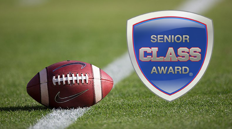 Stay tuned... well be announcing the Senior CLASS Award winner for football on Wednesday morning!