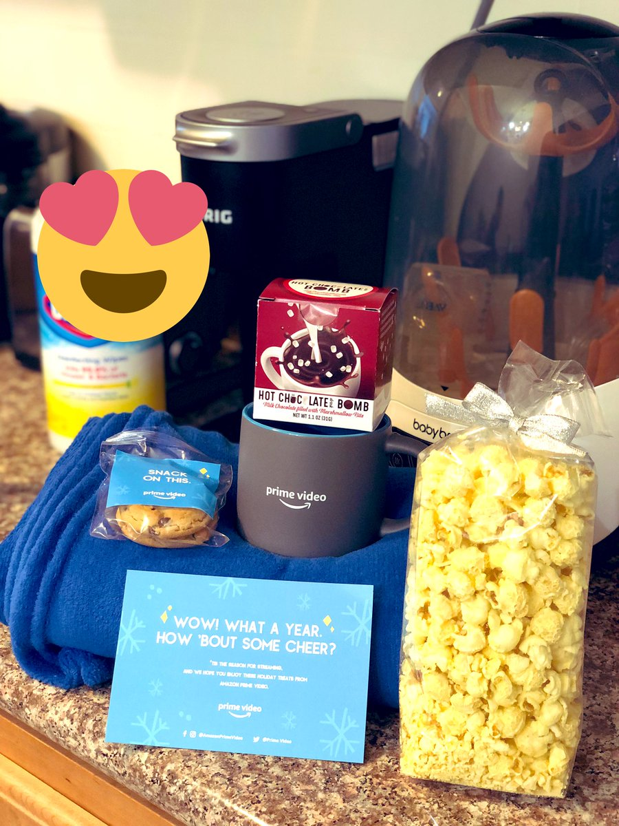 @gofooji @PrimeVideo thanks for my streaming buddies this season! Much NEEDED 😍😍😍 #PrimeVideo #nicelist