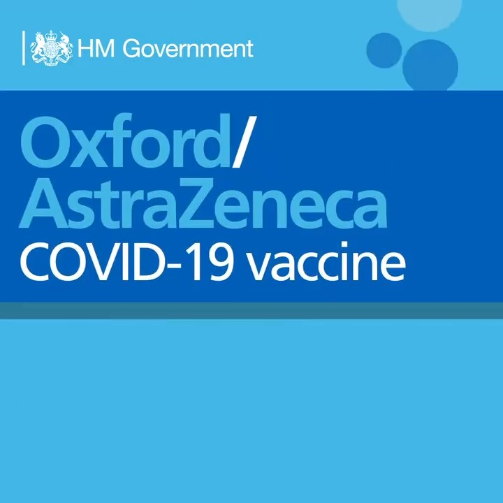BREAKING NEWS: The Government has accepted @MHRAgovuk recommendation for authorisation of @OxfordVacGroup/@AstraZeneca's #COVID19 vaccine for use in the UK.  This follows:  ✅ clinical trials ✅ data analysis ✅ MHRA authorisation   Read full statement: