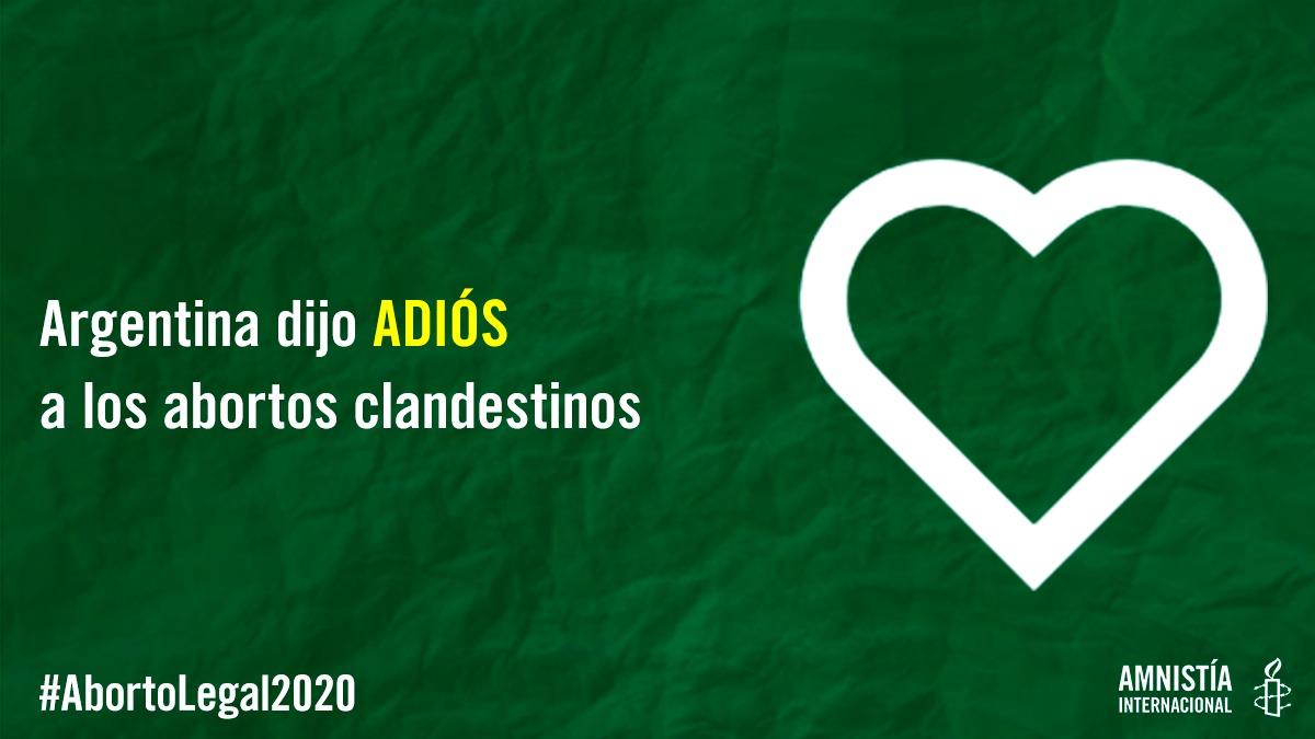 💚🔥 ¡¡¡El aborto es ley en Argentina!!! 🔥💚   🏛️ ¡El @senadoargentina aprobó la ley de interrupción voluntaria del embarazo!   💚 ¡HICIMOS HISTORIA! 💚
