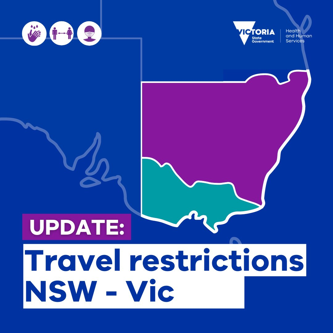 Vicgovdh On Twitter Residents In Border Communities Do Not Require A Permit However You Must Travel With Your Driver S Licence Or Other Valid Photo Id With Your Address Details