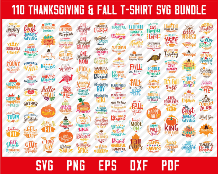 Thanksgiving Fall Quotes And Sayings T-shirt svg Design Bundle - Visit Our Store Here >>>  - #thanksgivingdecor #thankyou #feast #like #instagram #thanksgivingday #happy #bhfyp #pumpkin #follow #foodie #handmade #canada #photography #familytime