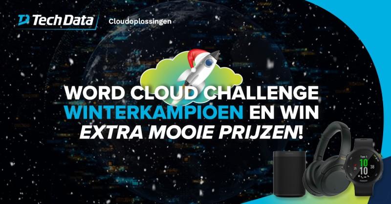 Word Cloud Challenge Winterkampioen. Met de…