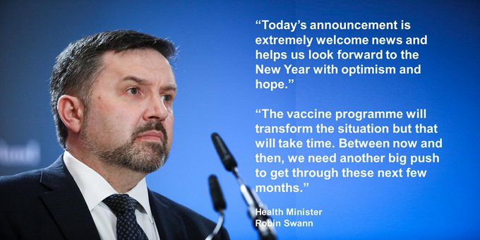 HEALTH MINISTER WELCOMES ASTRA/ZENECA APPROVAL