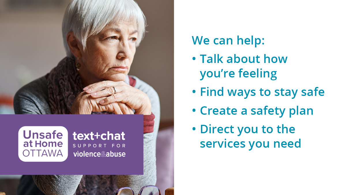We all deserve a safe place to rest this holiday season. If you're experiencing abuse in your home and you live in Ottawa or Lanark County, there is help #UnsafeAtHomeForTheHolidays (613) 704-5535 and unsafeathomeottawa.ca.