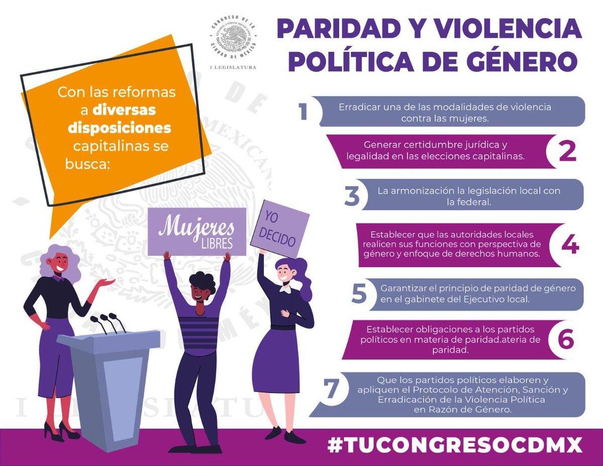 #PintaElMundoDeNaranja     ✔️ #TuCongresoCDMX aprobó el pasado 24 de julio de 2020 las reformas al Código de Instituciones y Procedimientos Electorales de la CDMX y a la Ley Procesal Electoral local en materia de paridad y #ViolenciaPolítica de género.  Conoce más👇