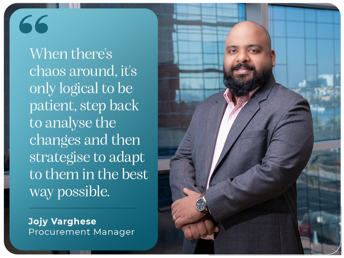 A simple mantra for inspiring, effective & mindful leadership is to find calmness in chaos. Jojy Varghese, our Procurement Manager shares his thoughts on these attributes as part of his learnings from 2020. #learnings #newyear #countdownbegins #iamscientechnic #reasoning https://t.co/Bq0pDj7WRK