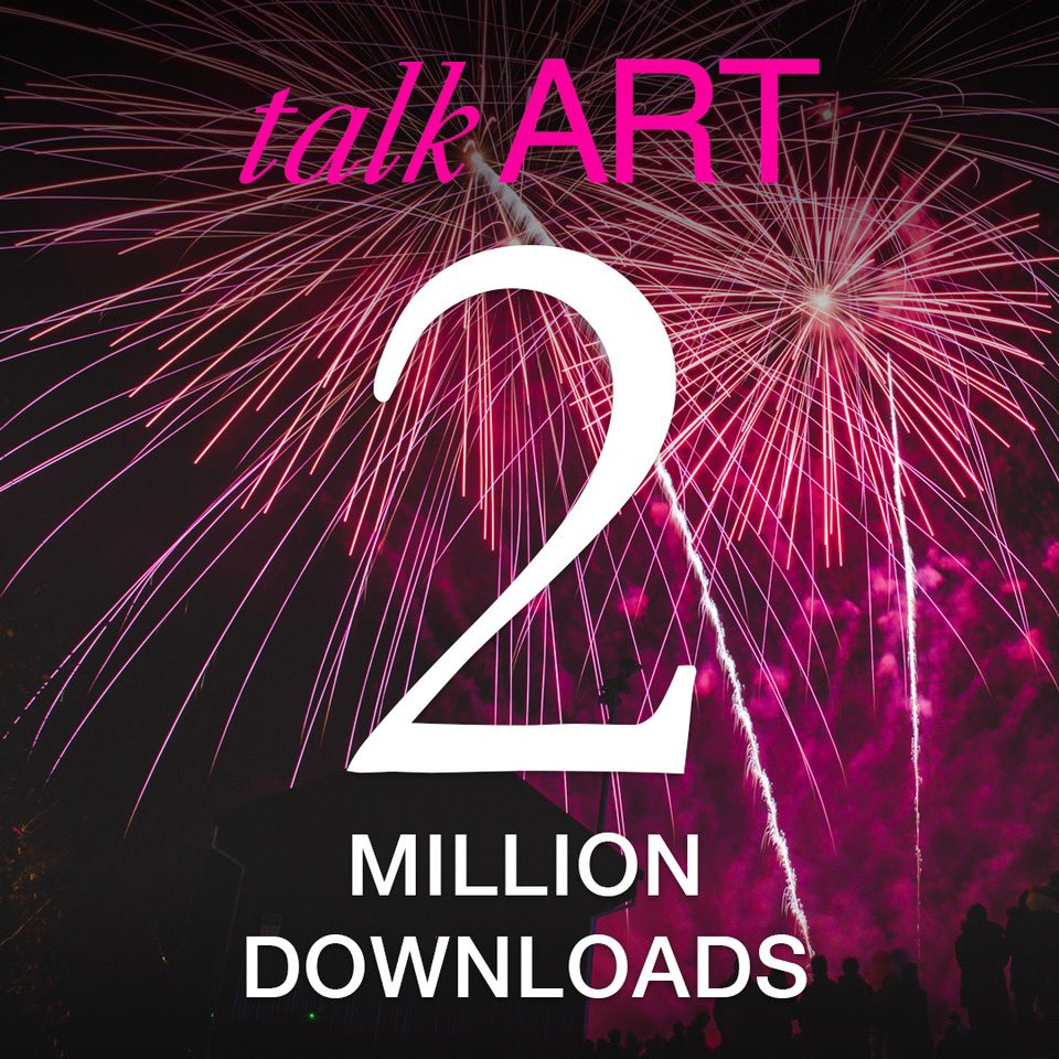 🎉🎨🎉🎨🎉 2 MILLION DOWNLOADS!!! THANK YOU!!! To celebrate, we have 1 more episode of 2020, launching tomorrow night for #NewYearsEve!!! Get ready to be dazzled. Literally!💡🎨❤️🍾 Thanks to all the inspiring artists and creative thinkers we've spoken to and our awesome team!