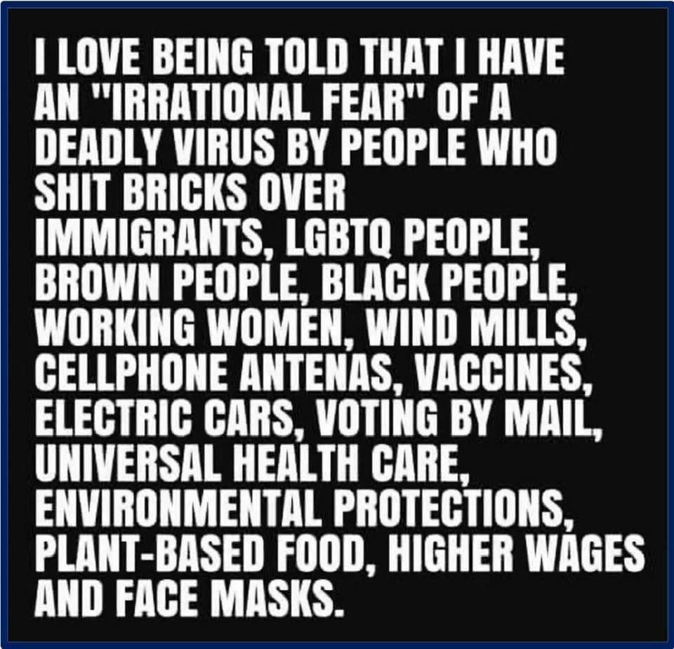 @danawithafist @19Dumptrump @4a_of @dadofdivas  #COVIDIOT #Trumplied337KAmericansDied #pandemia #wearthedamnedmask @RN00711 @sazzygram3 @elvia_espi @joan_edelstein @Aly_Dar8 @hig68