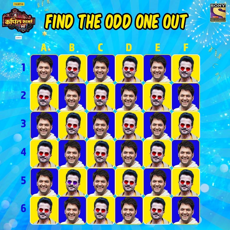 Laughter se bharpoor hoga aapka weekend iss baat mein nahi koi doubt, comments section mein bataiye hume odd one out. Miliye Superstar Anil Kapoor se #TheKapilSharmaShow mein aaj raat 9:30 baje. @KapilSharmaK9 @kikusharda @Krushna_KAS  @sumona24 @banijayasia @haanjichandan