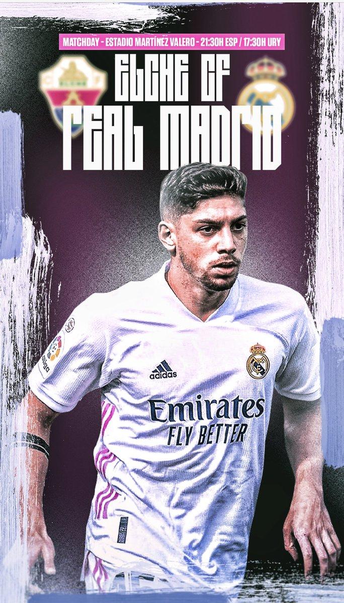 Matchday ⚽️ #HalaMadrid @LaLiga