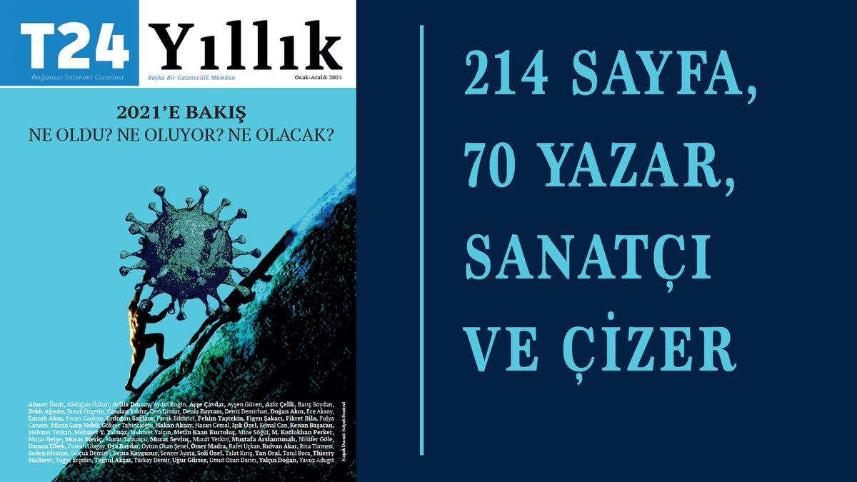 Türkiye'de ilk ve tek: T24 Yıllık 2021 çıktı