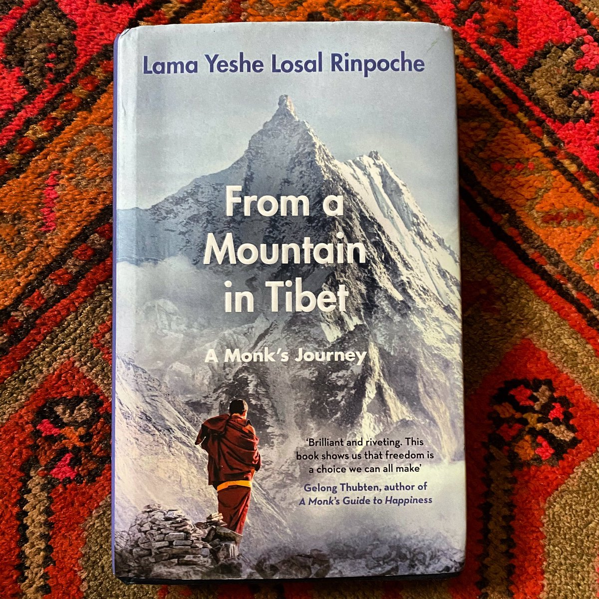 Beautiful book by Lama Yeshe Losal Rinpoche, who I knew from the time he came as a refugee from Tibet. Head of Samyeling, the most beautiful Tibetan monastery in Europe, in Scotland. His brother Akong Rinpoche, who founded Samyeling, was my dharma brother. #Tibetan #Buddhism.