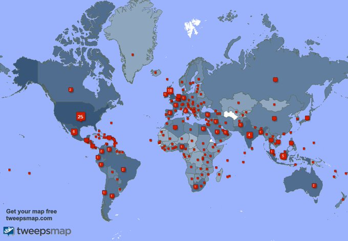 I have 1057 new followers from USA, South Africa, Brazil, and more last week. See https://t.co/f9Ocrex2UX