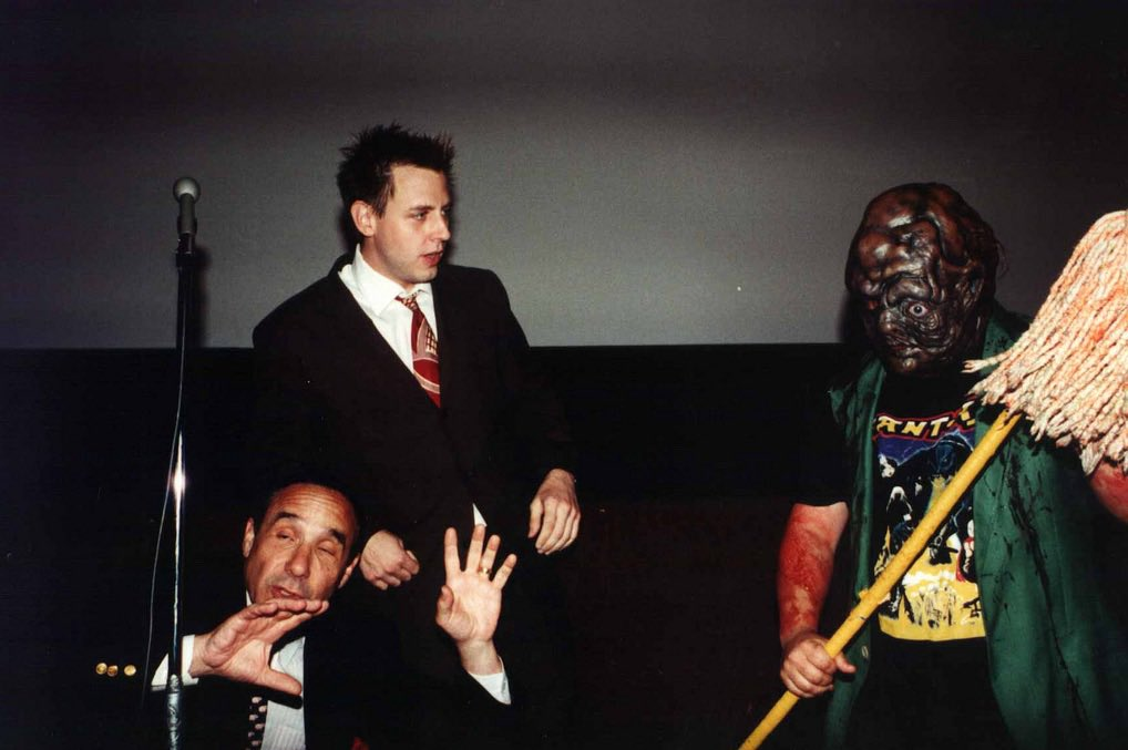 """James Gunn on Twitter: """"Troma was a crash course in everything about making  movies, from writing a script to casting to location scouting to production  to marketing the film. Without @lloydkaufman I"""
