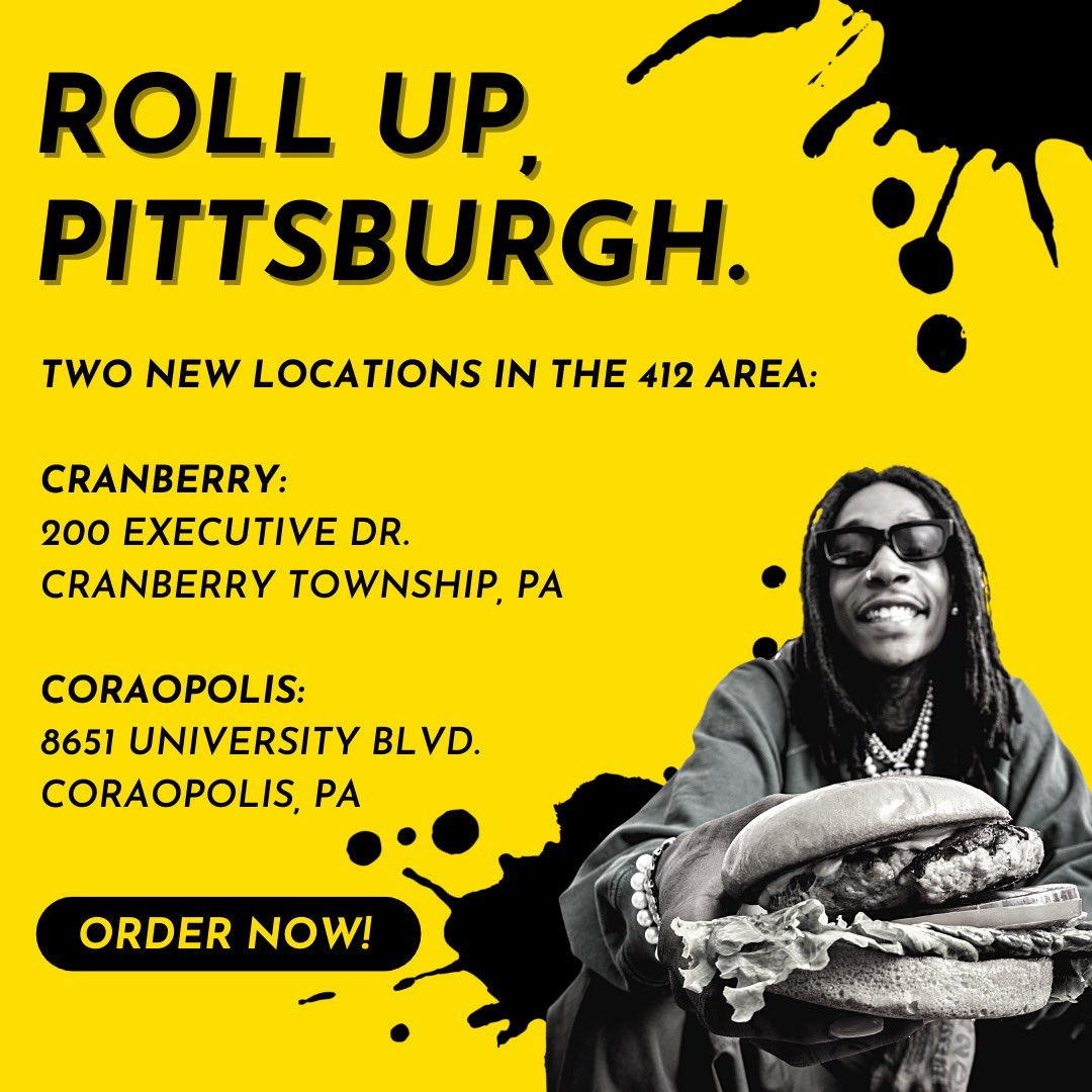 412 - we've got you‼️ Order up some HotBox by Wiz hits now at our new Pittsburgh area spots! Click the link in our bio to order, or use @DoorDash 🔥 #HotBoxByWiz   @wizkhalifa @TaylorGang @RealTaylorGang