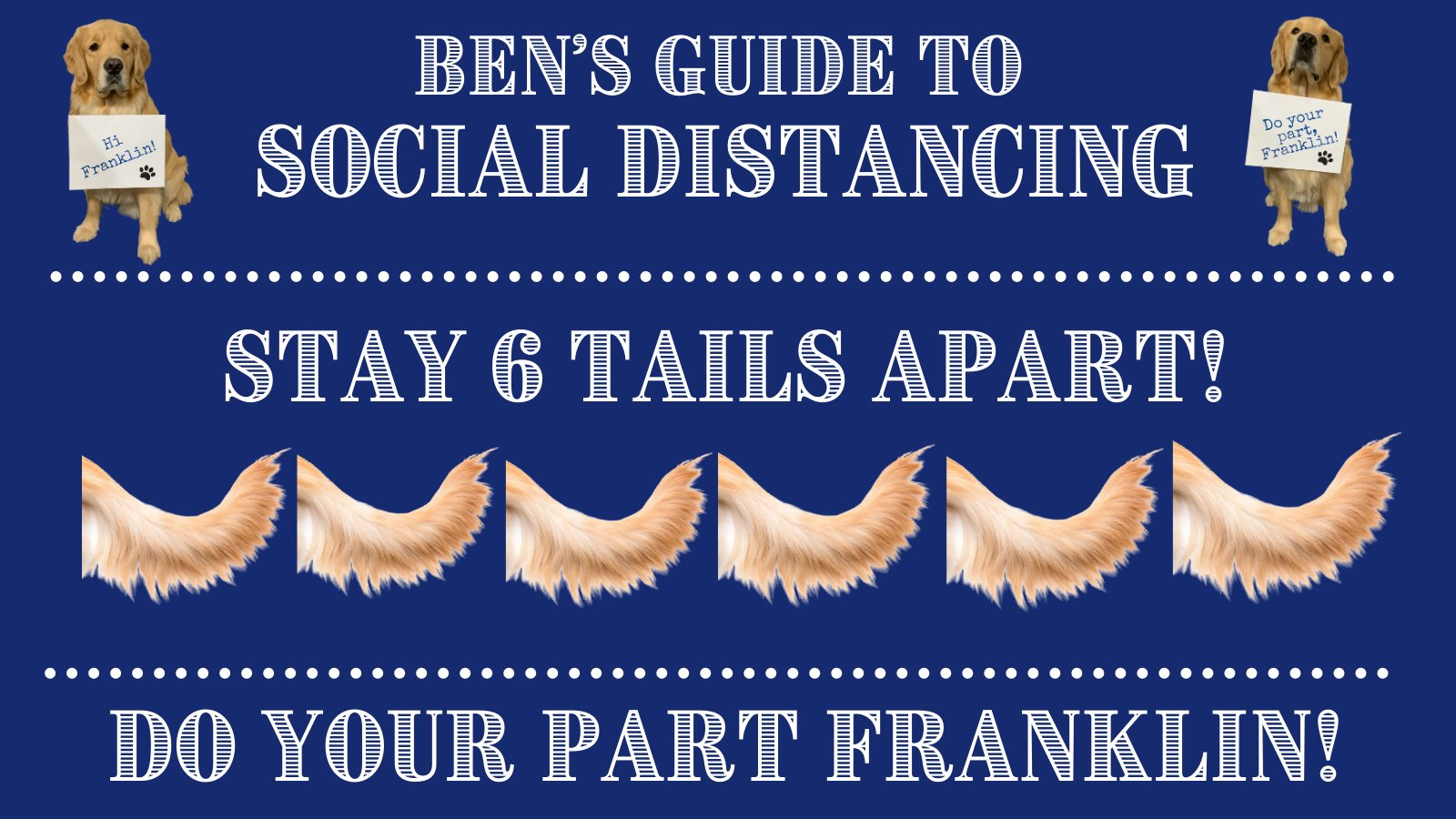 Town of Franklin, MA: Ben's guide to social distancing