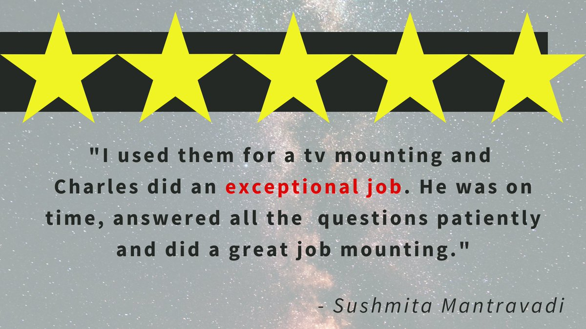 We always love hearing from our wonderful customers! Thanks for the fantastic review Sushmita!  #GreaterEastsideWashington #HandymanServices #Contractor #HomeImprovement #Remodeling  #Drywall #HomeImprovement  #EveryoneNeedsaHandyman #Handyman