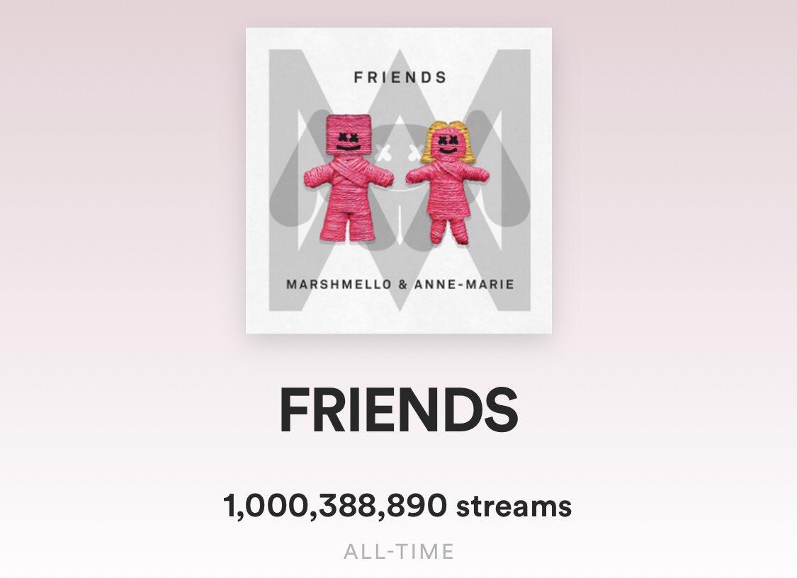 one billion @AnneMarie 👀