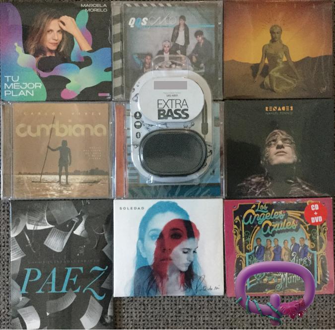 Participá en  y ganate un parlante Bluetooth increíble y los mejores CDs!