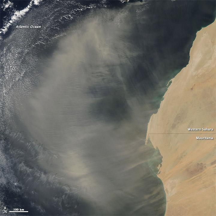 But all PM is bad for health: this Nature Sustainability paper uses measurements of Saharan dust to show that a 10μg/m3 increase in annual mean PM2.5 causes a *24% increase* in infant mortality across Sub-Saharan Africa. https://www.nature.com/articles/s41893-020-0562-1