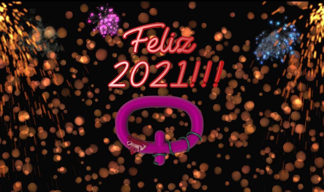 ¡Contemos juntos la llegada del 2021!  #FelizAñonuevo #Feliz2021 #Chau2020