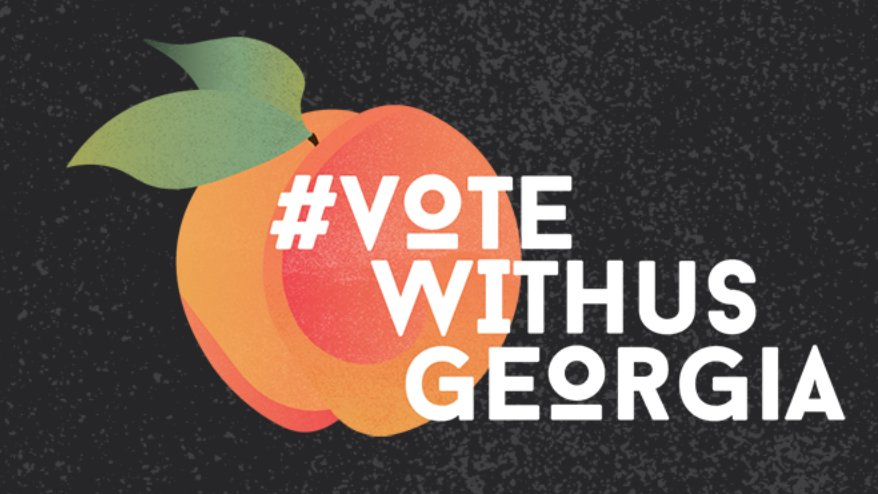 Youth voters will decide the Georgia Runoffs! Now, with less than a week until Election Day, we need YOUR help to get out the vote in Georgia! 🍑✌️ Learn more:  #votewithusgeorgia #votewithus
