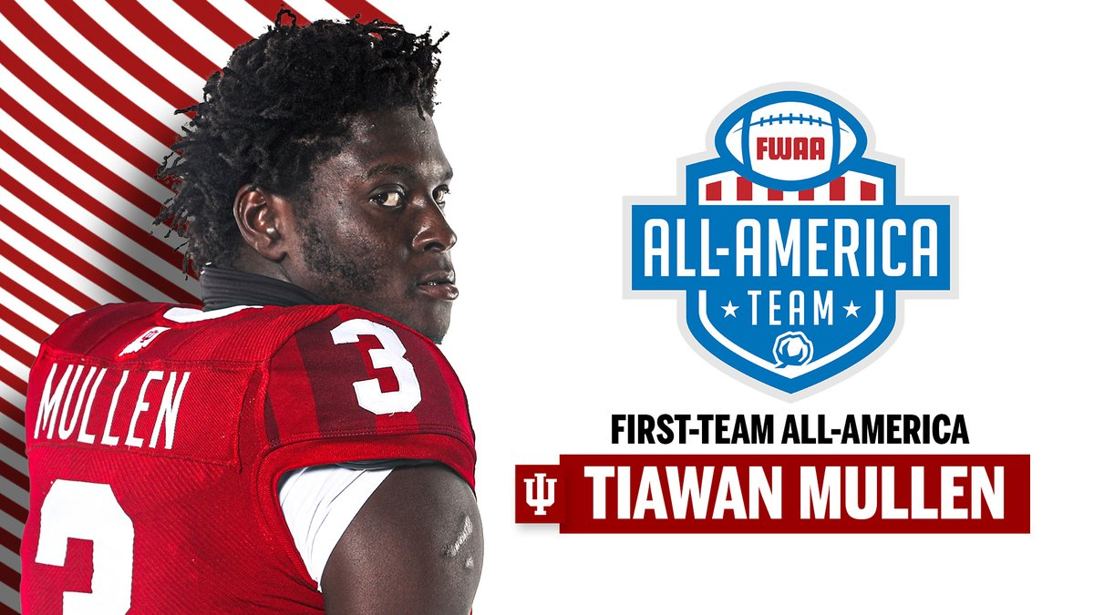 Replying to @IndianaFootball: The 𝙁𝙄𝙍𝙎𝙏 cornerback in #IUFB history to earn first-team All-America honors!