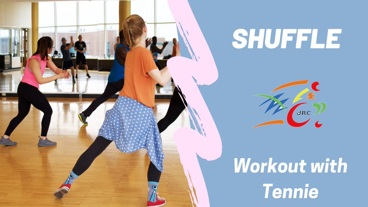 Do you have two minutes to spare? Join Tennie as she teaches us the Shuffle #Exercise and don't forget to subscribe to the new dRC YouTube channel.  #cildrc #disability #disabilities #livelifeyourway #disabilityresources #independentlivingresources