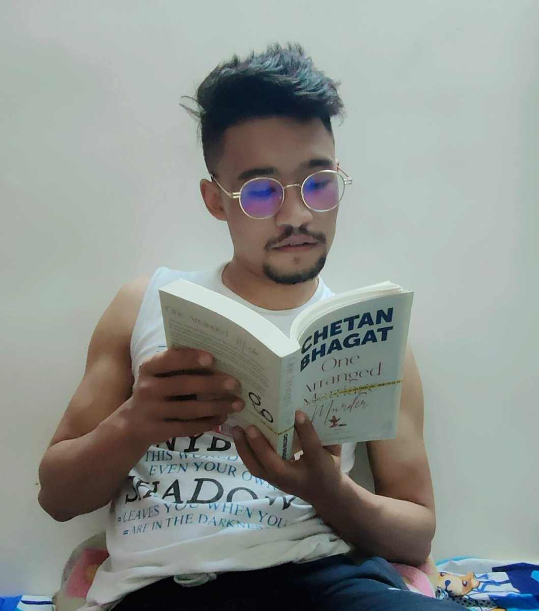 Defenestrate your loneliness through reading books. @chetan_bhagat  #OneArrangedMurder