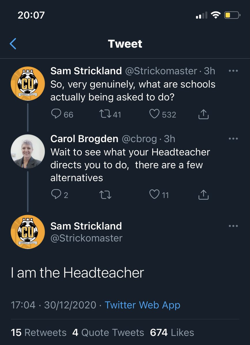 My favourite Twitter exchange of the day! 🤣🤣🤣