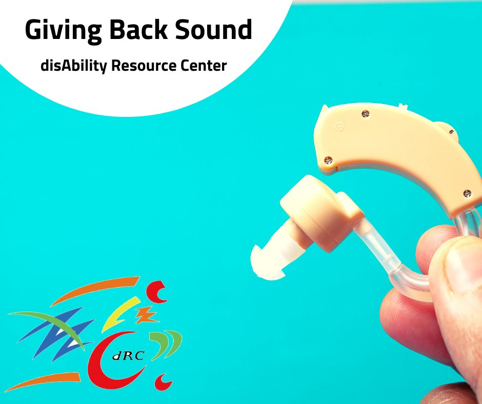 If you have #hearingaids that were gently used and no longer needed, please donate them to our #GivingBackSound Campaign. Contact the dRC's #DHOH Dept. by email at ddrew@cildrc.org. #hardofhearing #deafcommunity #disability #livelifeyourway