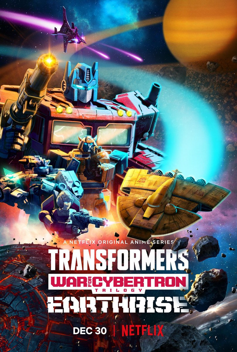 Autobots, roll out! ...and tune in to #Netflix for the second part of the #Transformers #WarForCybertron trilogy! #Earthrise drops today and I'm so excited to be continuing the fight as #Wheeljack. Be sure to give it a watch! #TillAllTuneIn