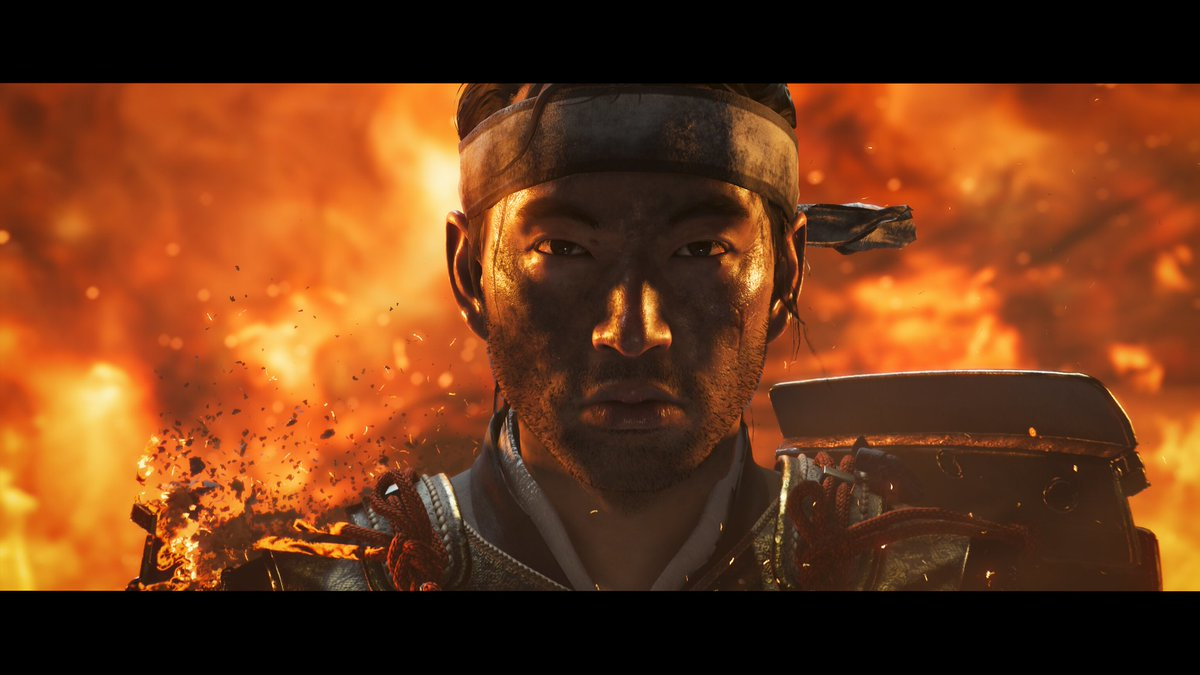 """Replying to @PlayStation: """"Honor died on the beach.""""  - Jin Sakai, Ghost of Tsushima  #GameQuotes2020"""