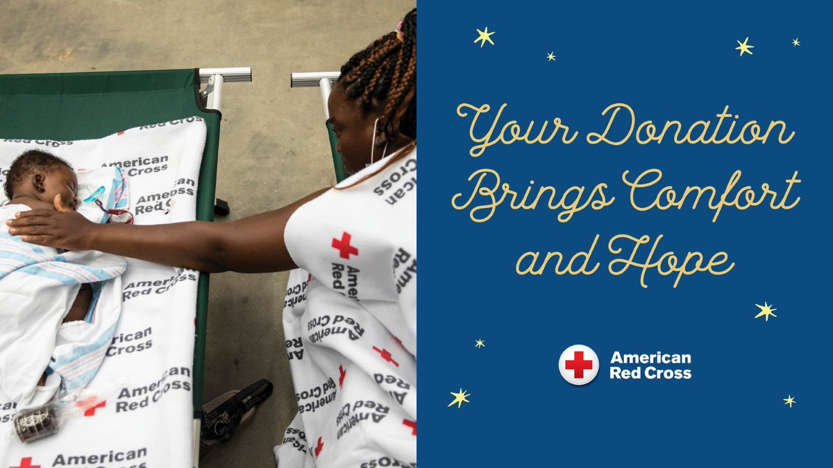 You can provide comfort and hope to families that have lost everything after a disaster. A donation of $100 can provide a family of two with a full day of emergency shelter. Visit  to #GiveWithMeaning.
