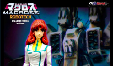 #Robotech: The #Macross Saga Lisa Hayes Figure From KitzConcept Now Shipping!!!!  ORDER HERE:     #80s #anime #toys