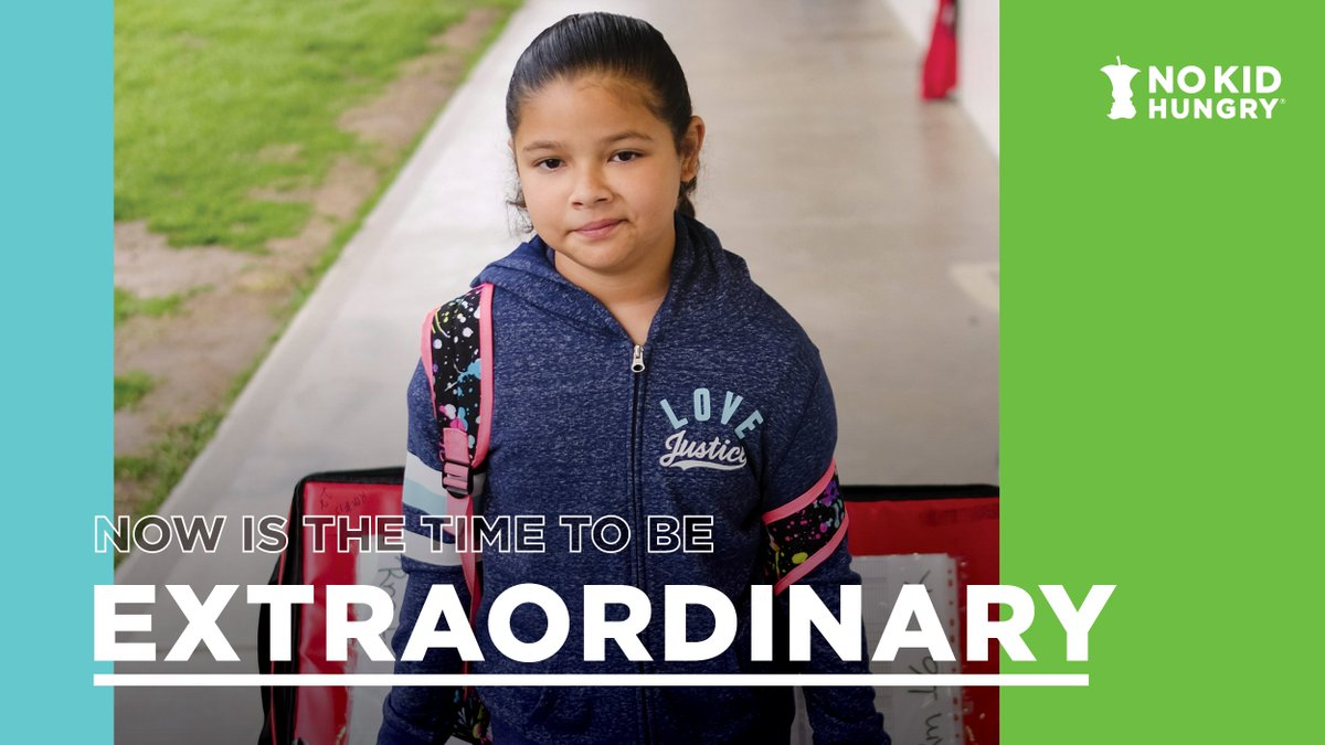 During this extraordinary crisis, hungry kids rely on your #ExtraordinaryGenerosity to get the meals they need. By hosting a charity stream during our #BeExtraordinary campaign, you and your community can help those kids. Sign up to stream here: