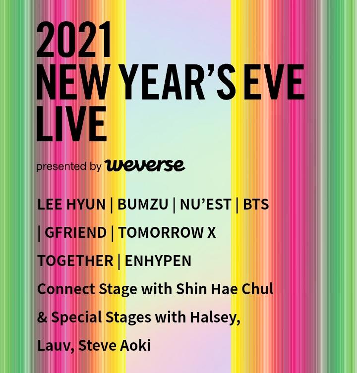 🔱SORTEO DEL CONCIERTO 2021 NEW YEAR'S EVE LIVE  🎉Ganadores: 5  🔱Requisitos: 🎉Seguirme. 🎉Darle fav y rt.  Mucha suerte🥺💜   (Esto no es asegurado porque tengo problemas con weverse shop pero si se puedo en la segunda ronda)