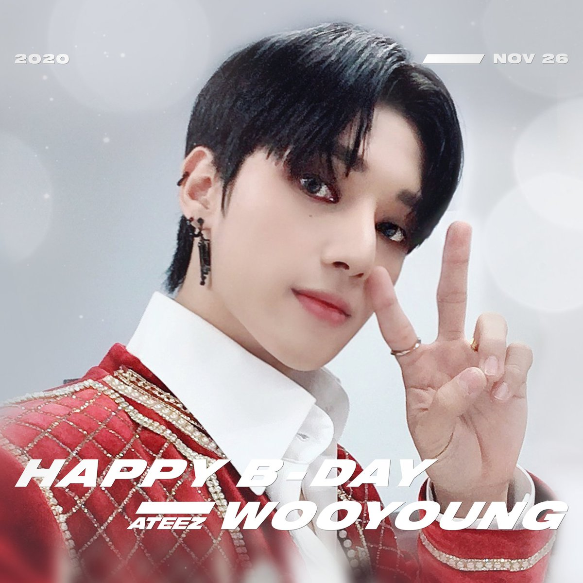 ♡🎉 2020.11.26 HAPPY BIRTHDAY WOOYOUNG 🎉♡  #HappyBirthdayWooYoung #HappyWOOYOUNGDay  #ATEEZ #에이티즈 #우영 #WOOYOUNG